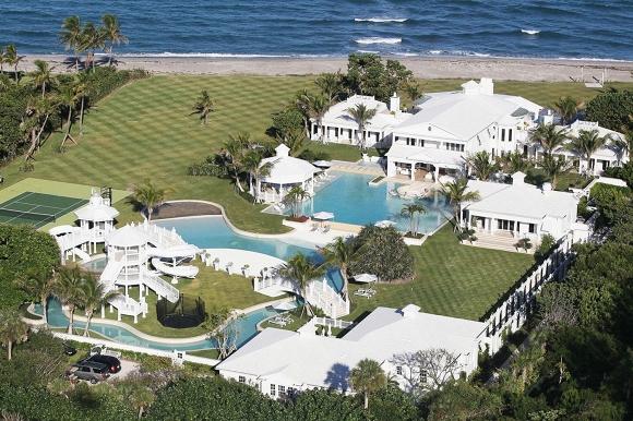 10 ngôi sao sở hữu dinh thự đắt giá nhất Hollywood