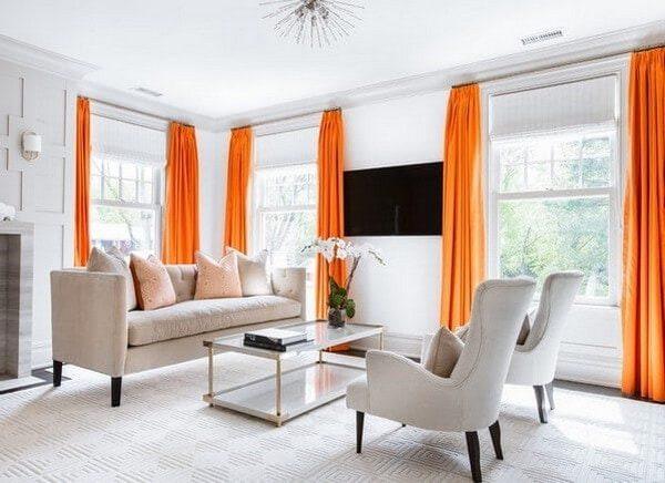 Sự bứt phá thời trang với rèm cửa ở trong ngôi nhà của bạn