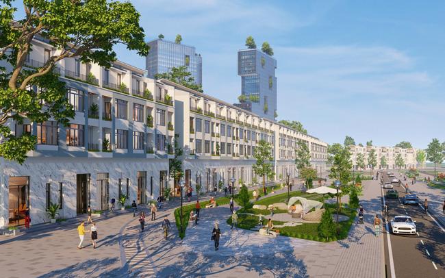Ecopark triển khai phố đi bộ shopping và giải trí dài 2km tại Hải Dương