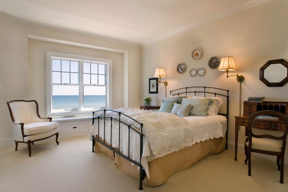 Cách bố trí phòng ngủ nhỏ khi bạn đam mê những chiếc giường cỡ Queen